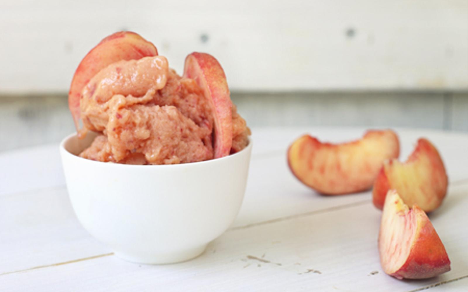 Fresh Peach Gelato