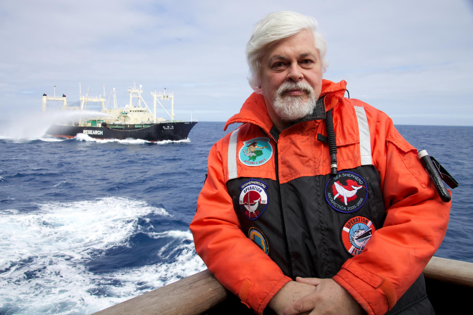 Captain Paul Watson, Renowned Conservationist and Founder of Sea Shepherd Has a Stark Warning for the Planet