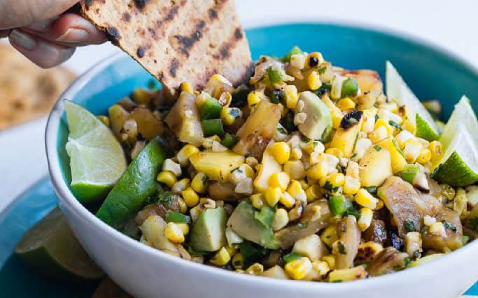 Grilled Pineapple Salsa With Mango and Corn