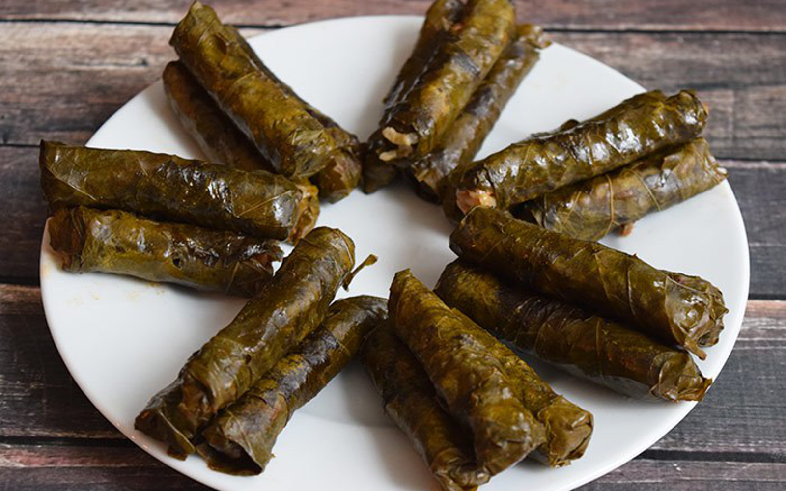 Yaprak Sarma Low Fodmap Turkish Stuffed Grape Leaves Vegan Gluten Free One Green Planet