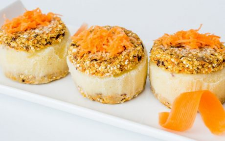 Carrot Cake Ice Cream Sandwich [Vegan, Gluten-Free]