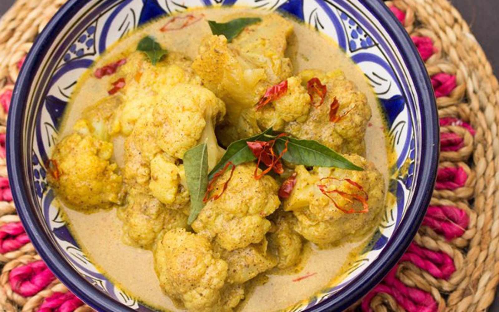 Cauliflower Gashi: Spicy Cauliflower Curry [Vegan, Grain-Free]