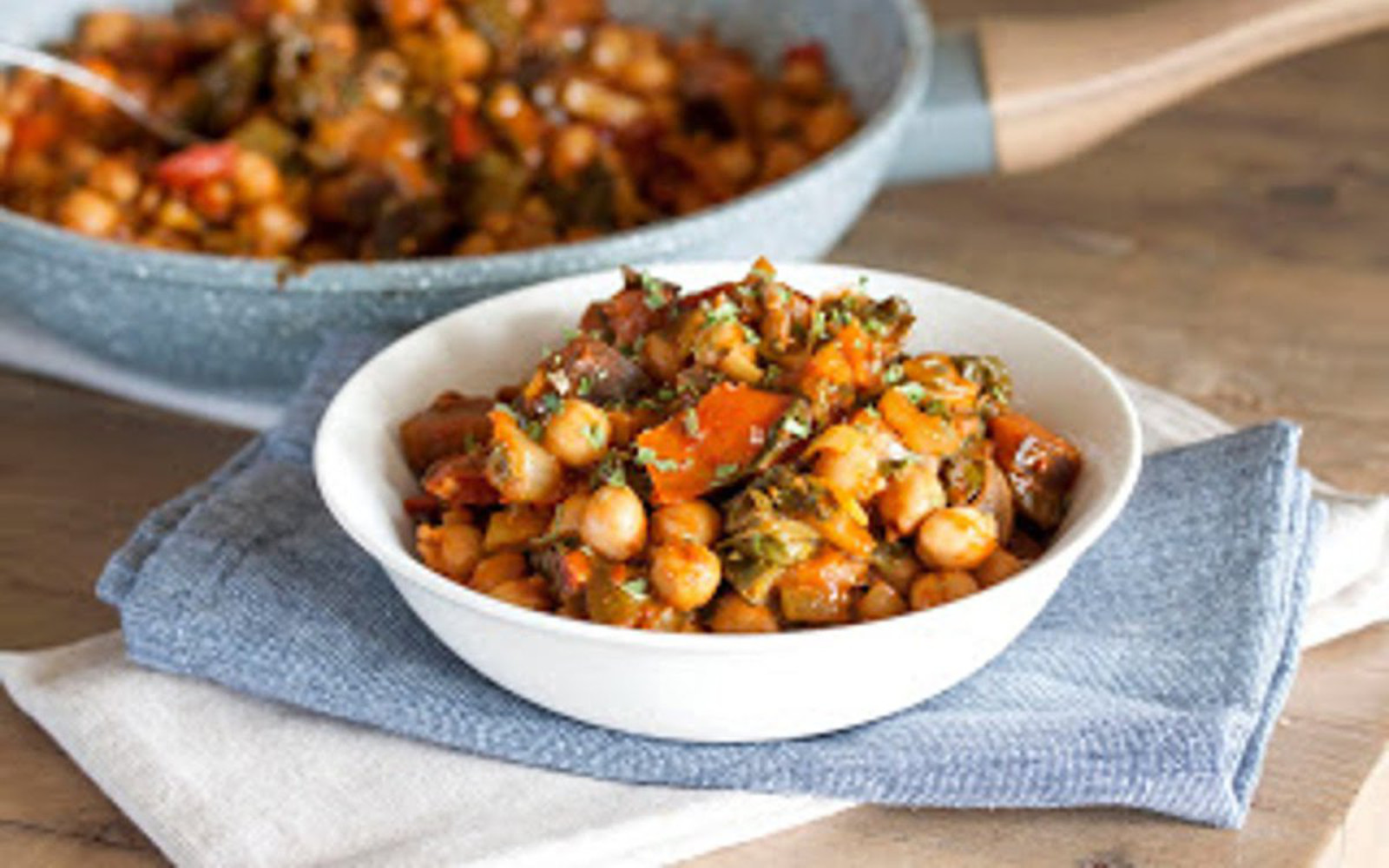 Chickpea Baked Beans