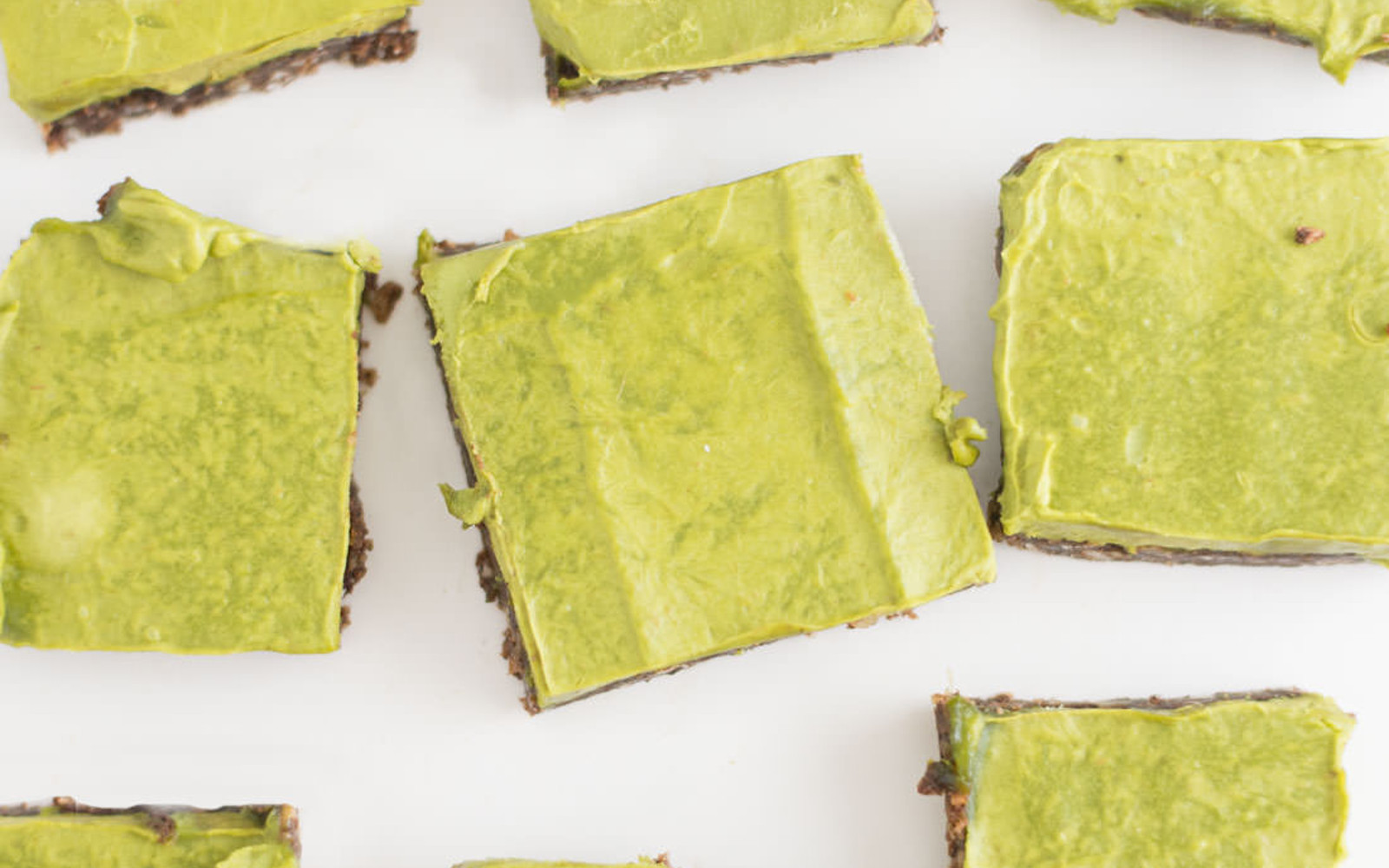 Vegan Chocolate avocado bars
