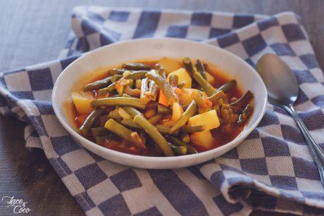 Vegan Gluten-Free Green Bean, Potato, and Carrot Stew