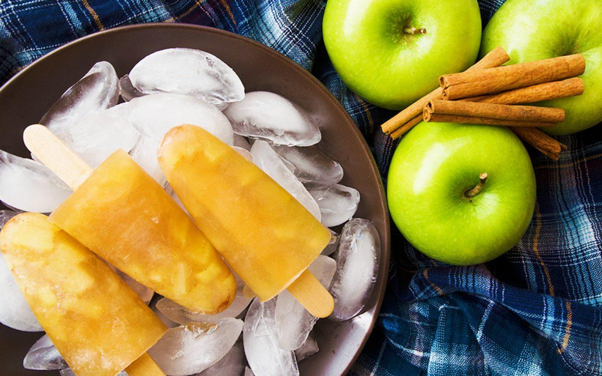 Vegan Apple Cider Popsicles