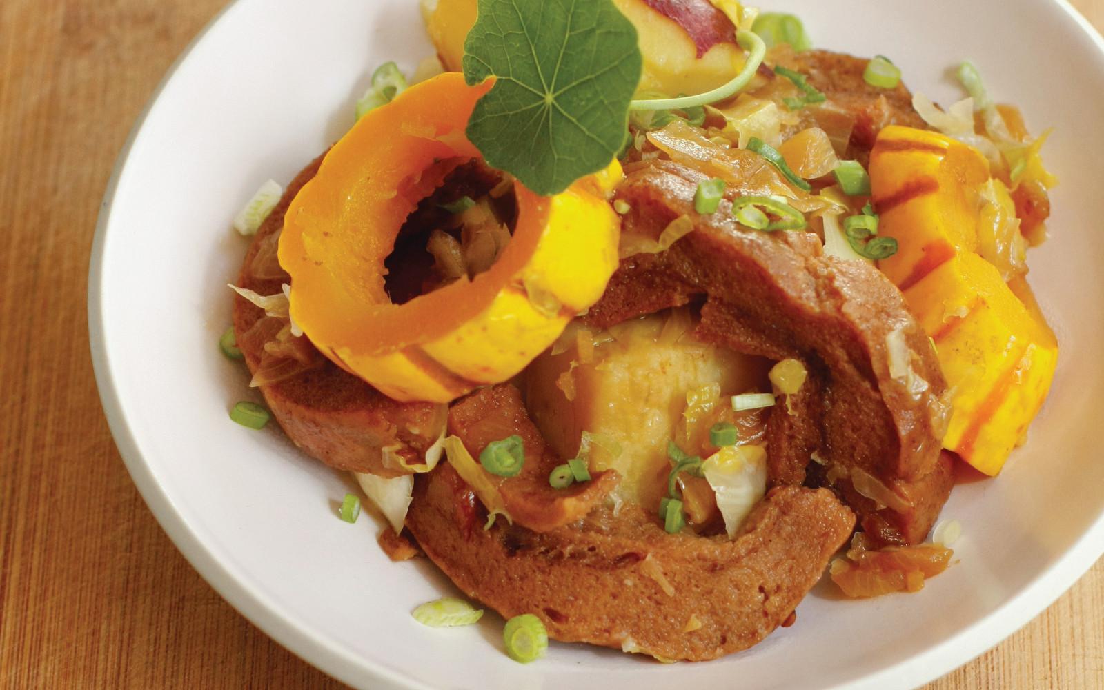 Vegan Macrobiotic Autumn Fu Stew