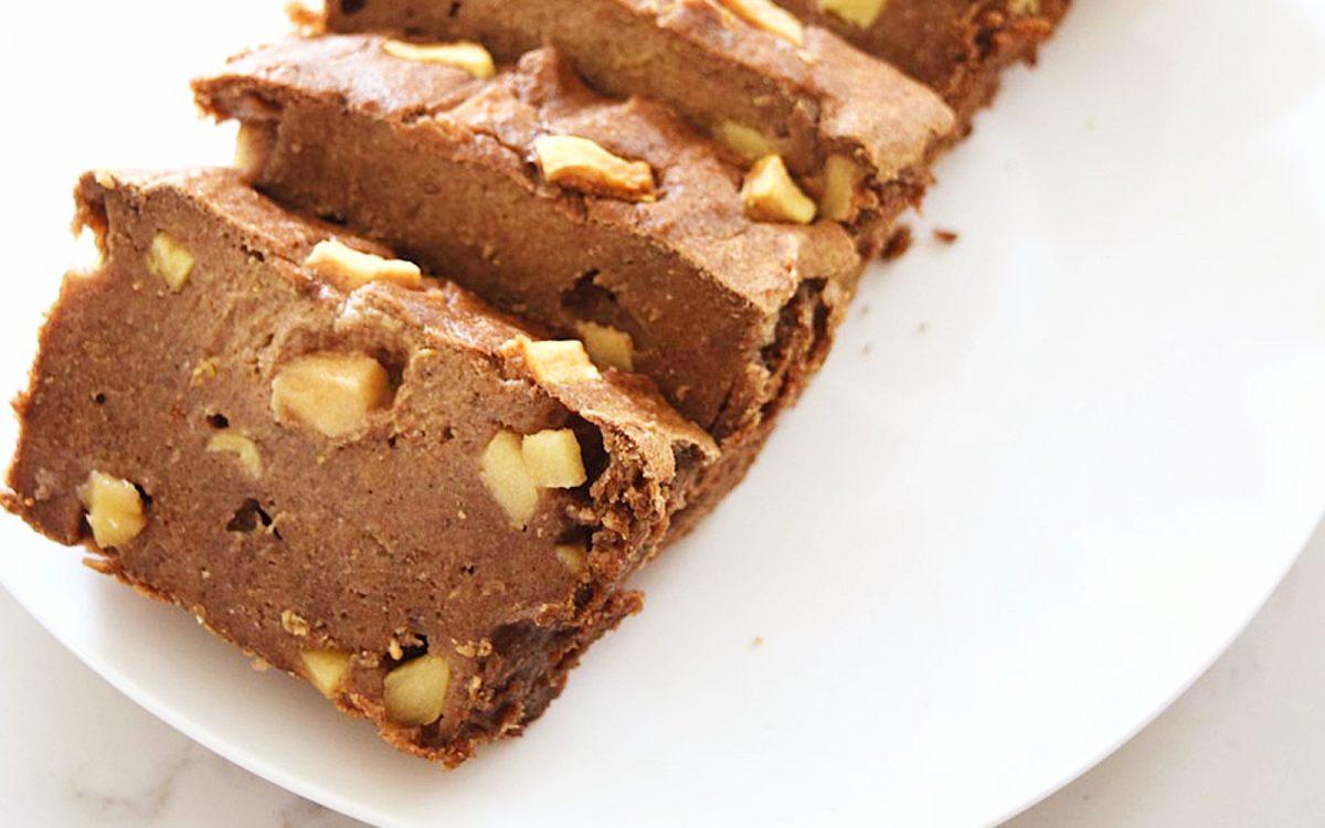 Vegan Flourless Apple Cinnamon Bread