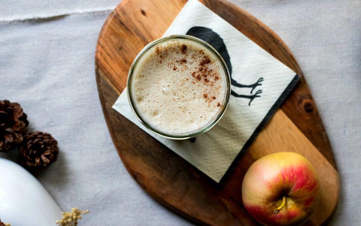 Pumpkin Spice Latte With Homemade Pumpkin Seed Milk