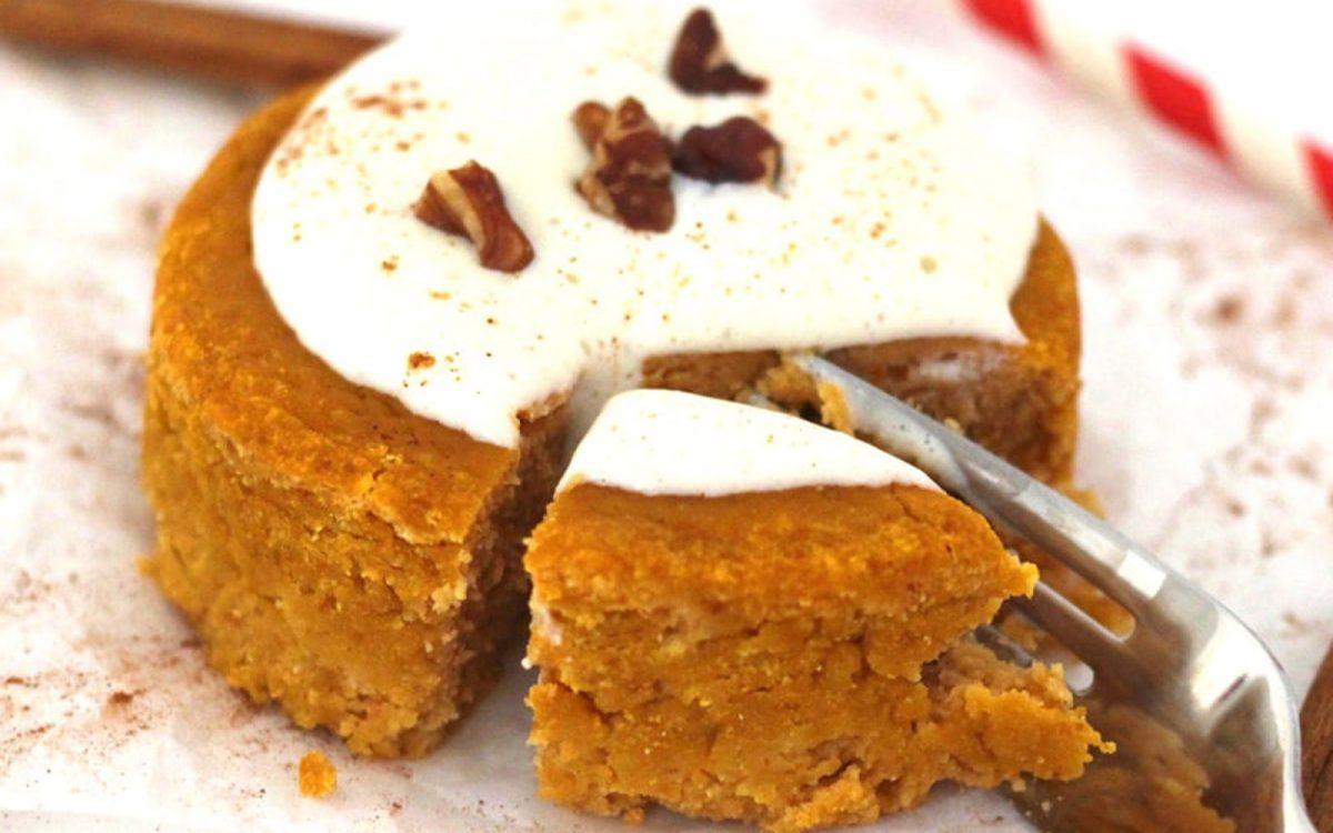 Pumpkin Spice Mug Cake Vegan Gluten Free Oil Free One Green Planet
