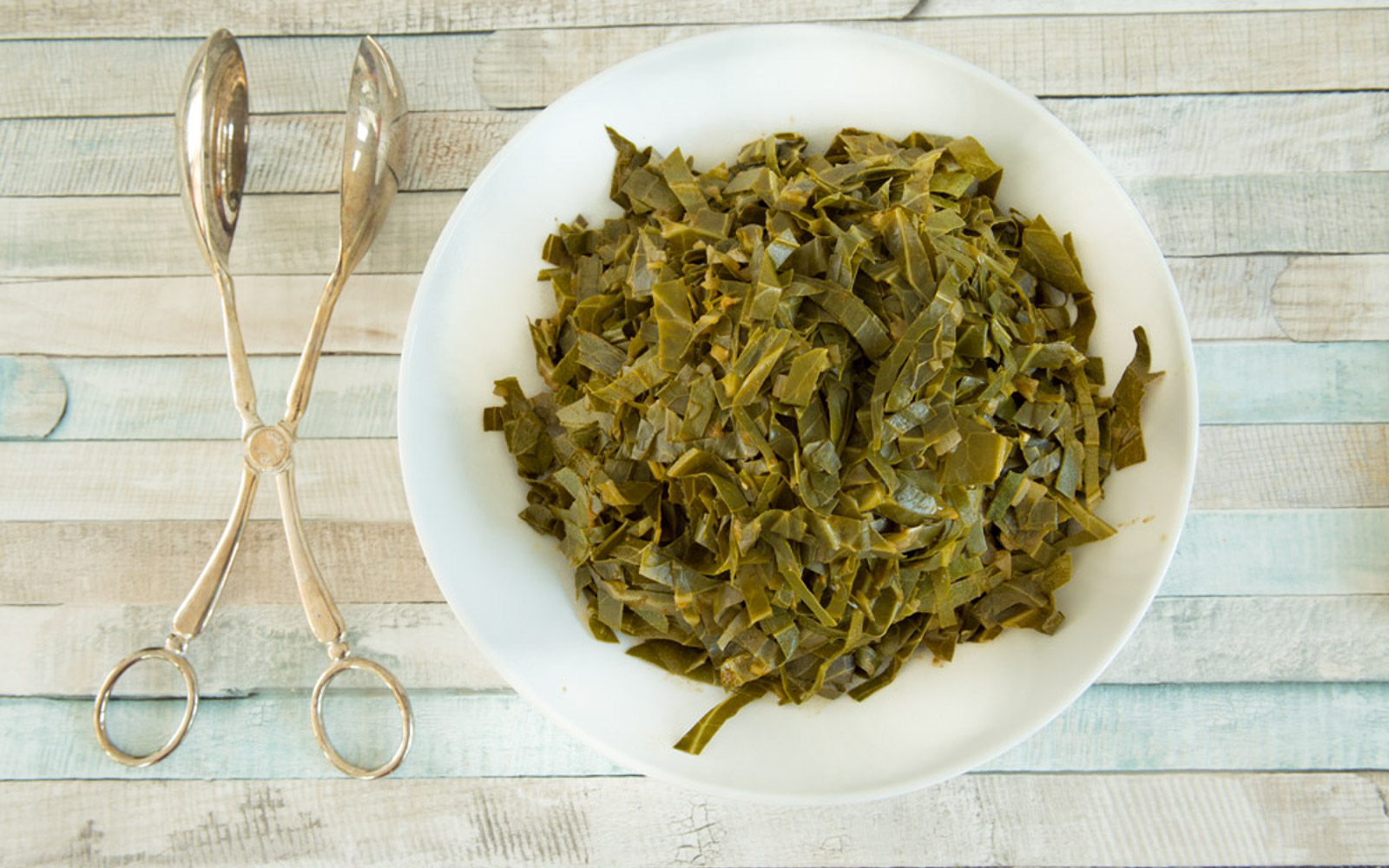 Vegan Grain-Free Oil-Free Smoky Southern Collard Greens