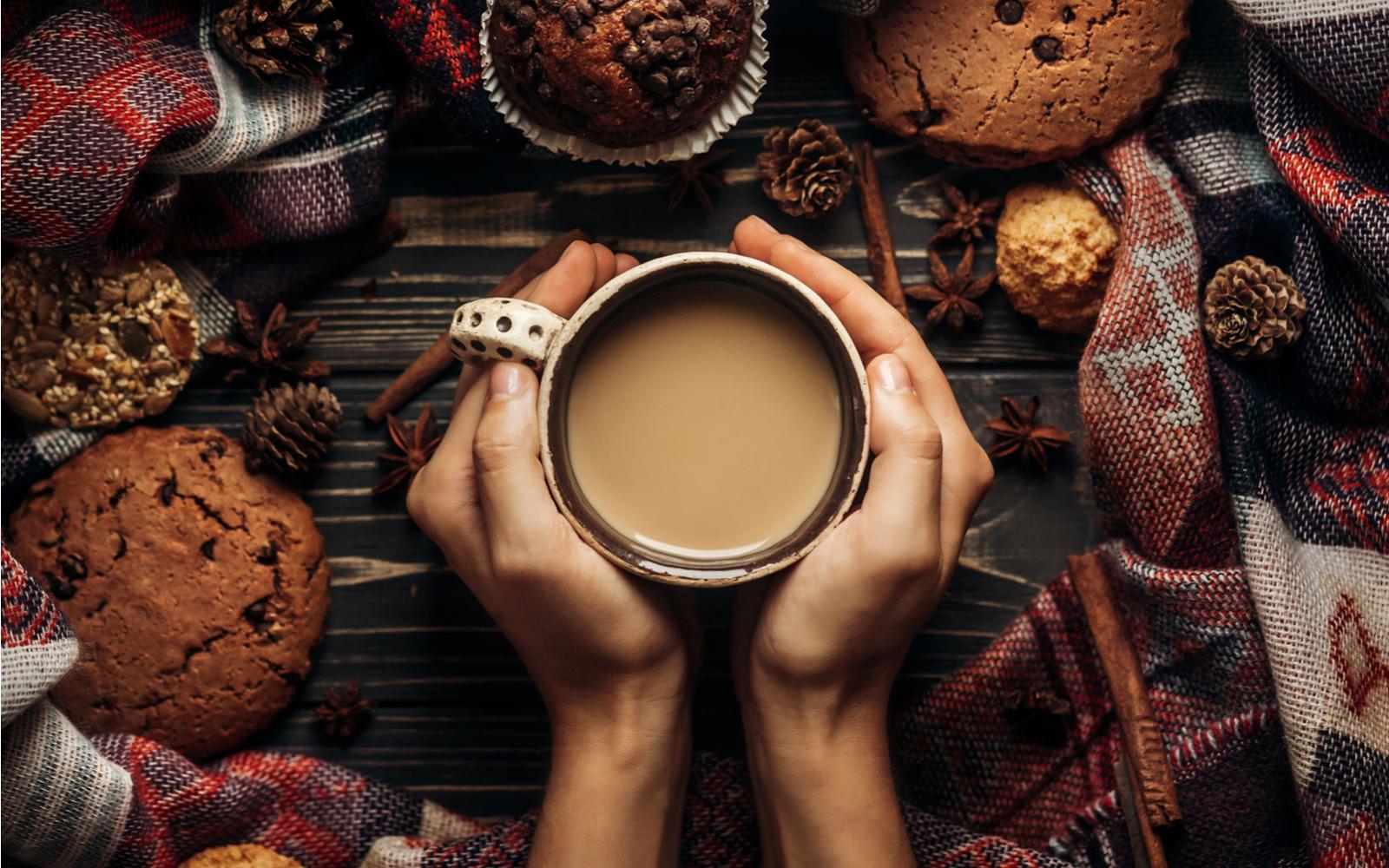 mug with drink