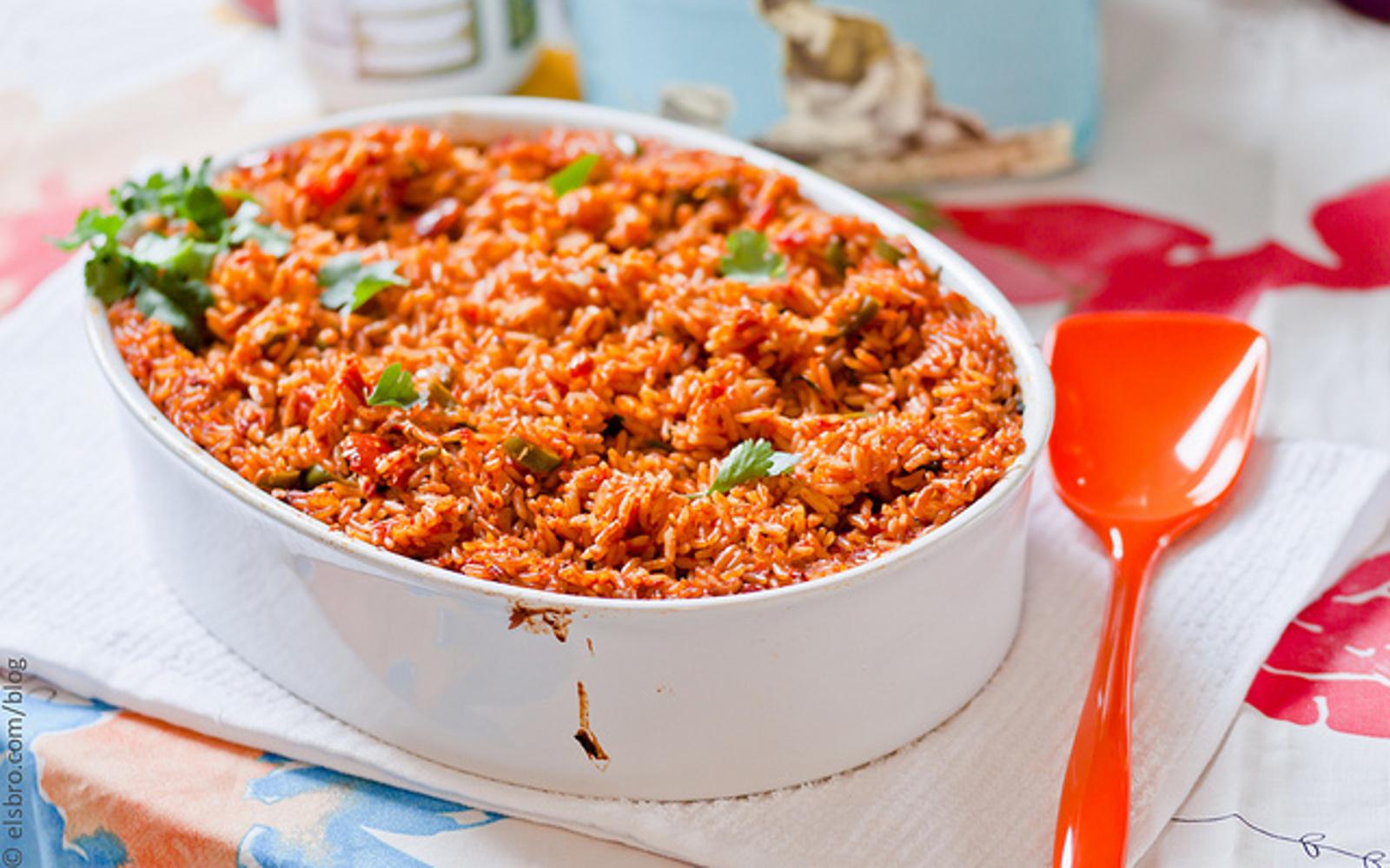 Baked Jollof Rice