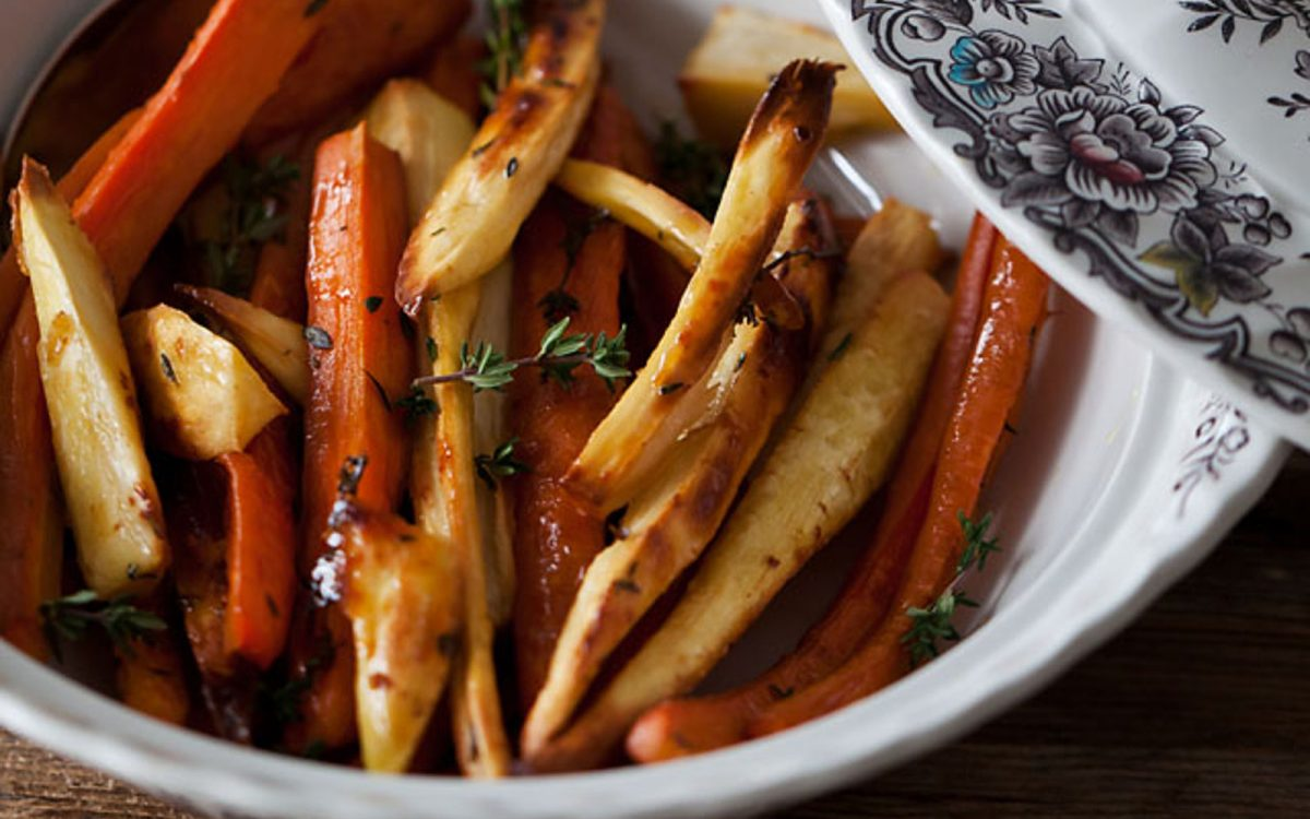 Roasted Carrots And Parsnips Recipe