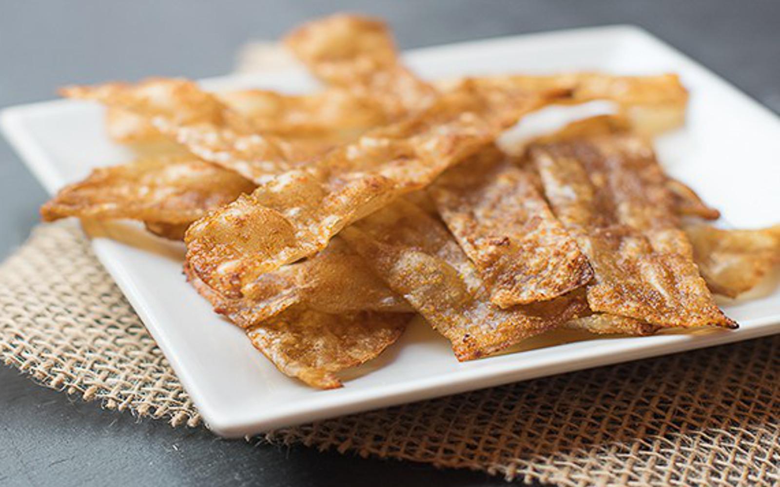 Vegan Gluten-Free Extra Crispy Rice Paper Bacon