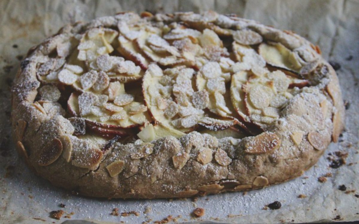Apple Marzipan Galette Vegan One Green Planet