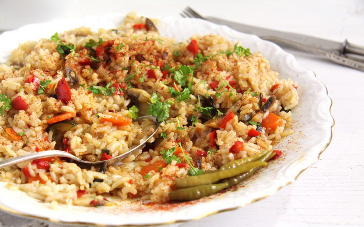 Romanian Vegetable Pilaf