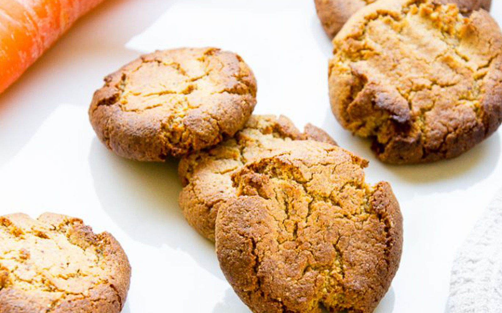 Vegan Gluten-Free Savory Almond Carrot Biscuits