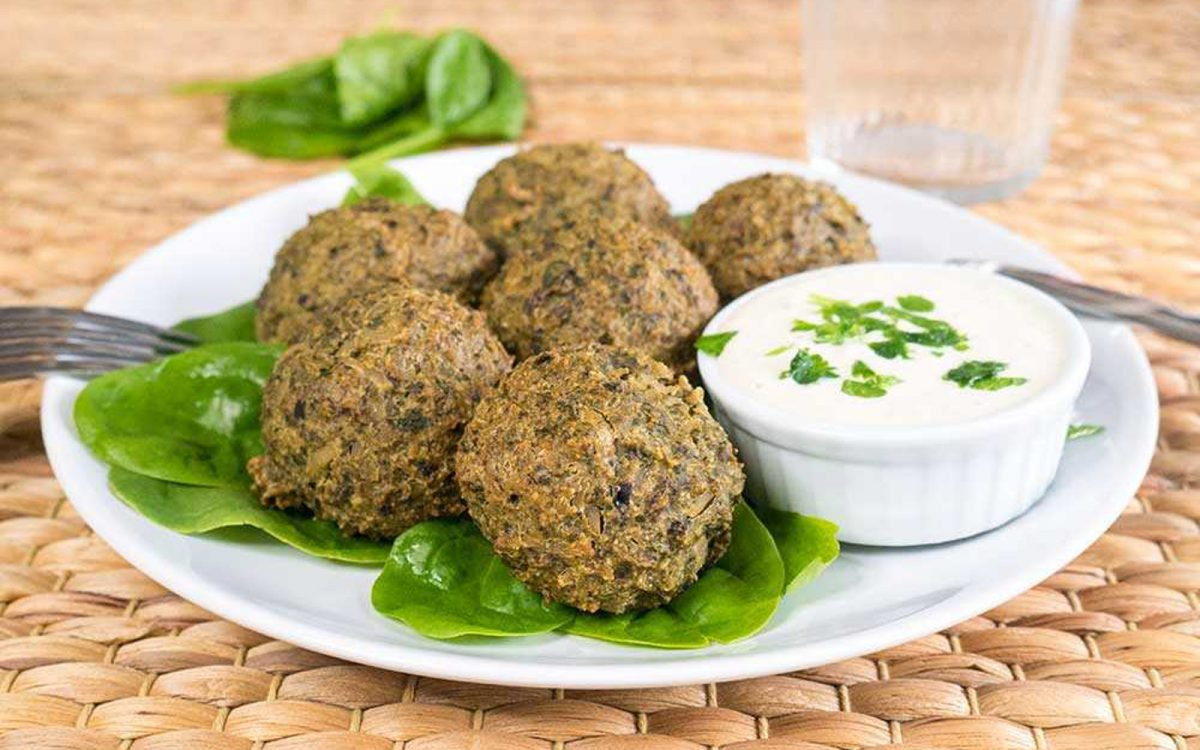 Spinach and Rice Balls