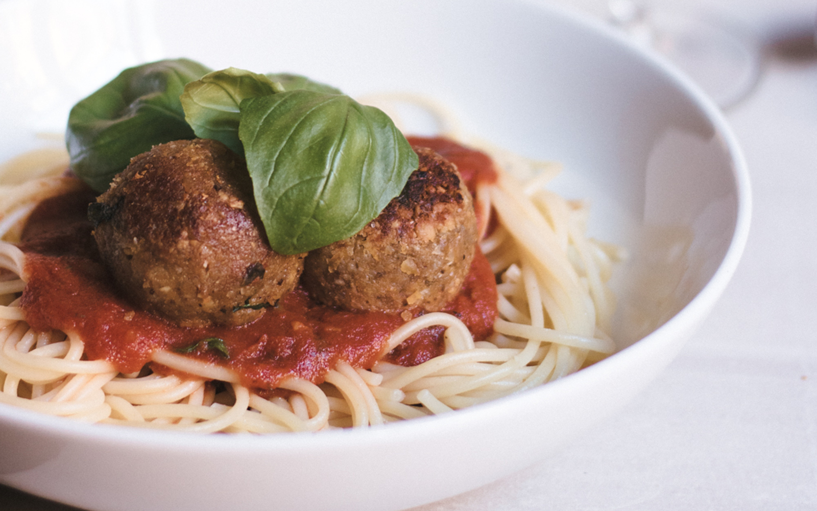 Vegan Italian Sunflower Seed and Chickpea Meatballs