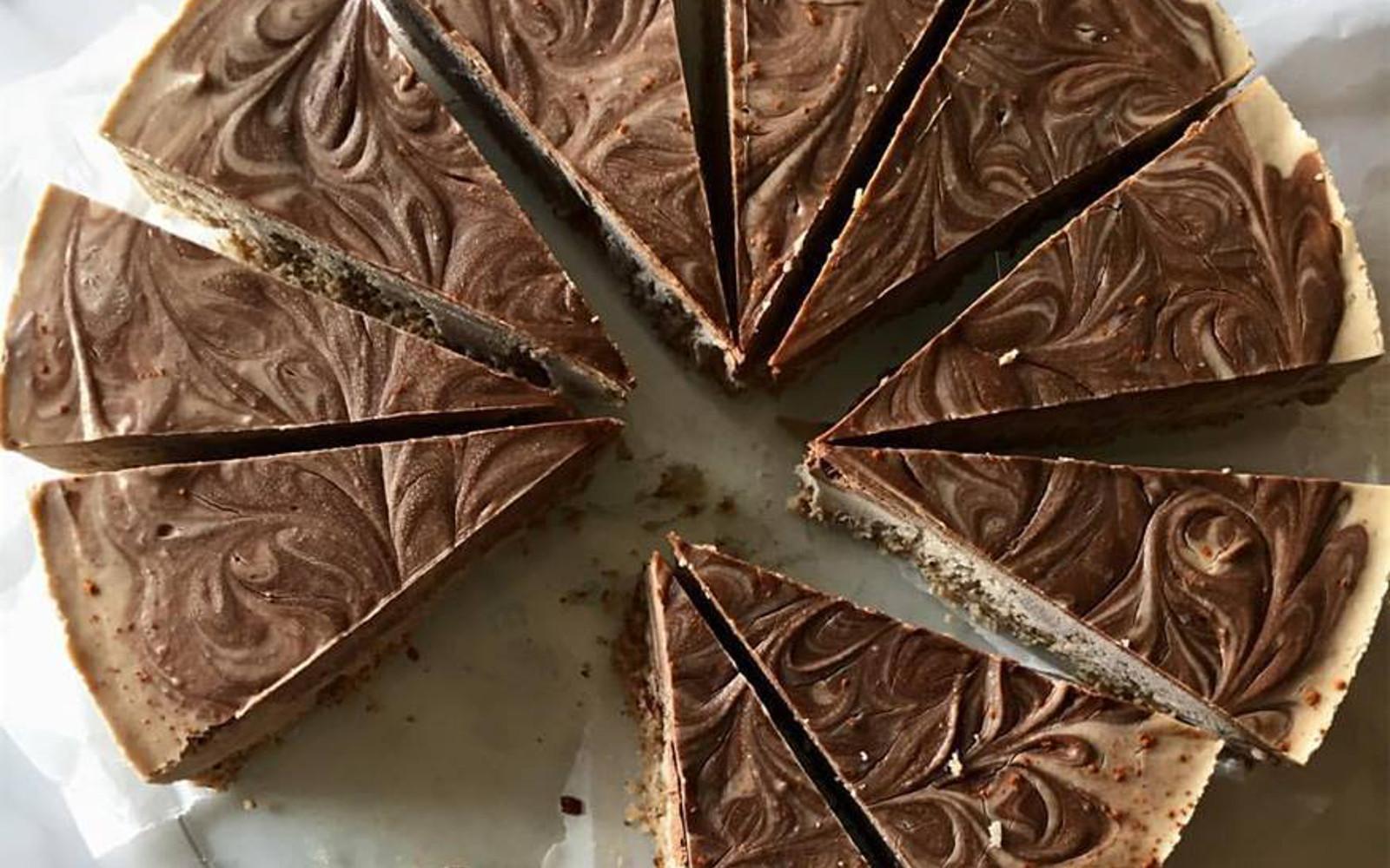 Raw Vegan Medicinal Cacao Chai Cheesecake