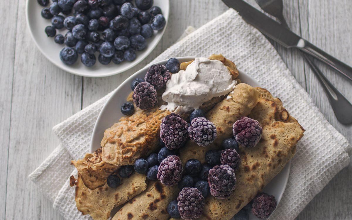quinoa crepes