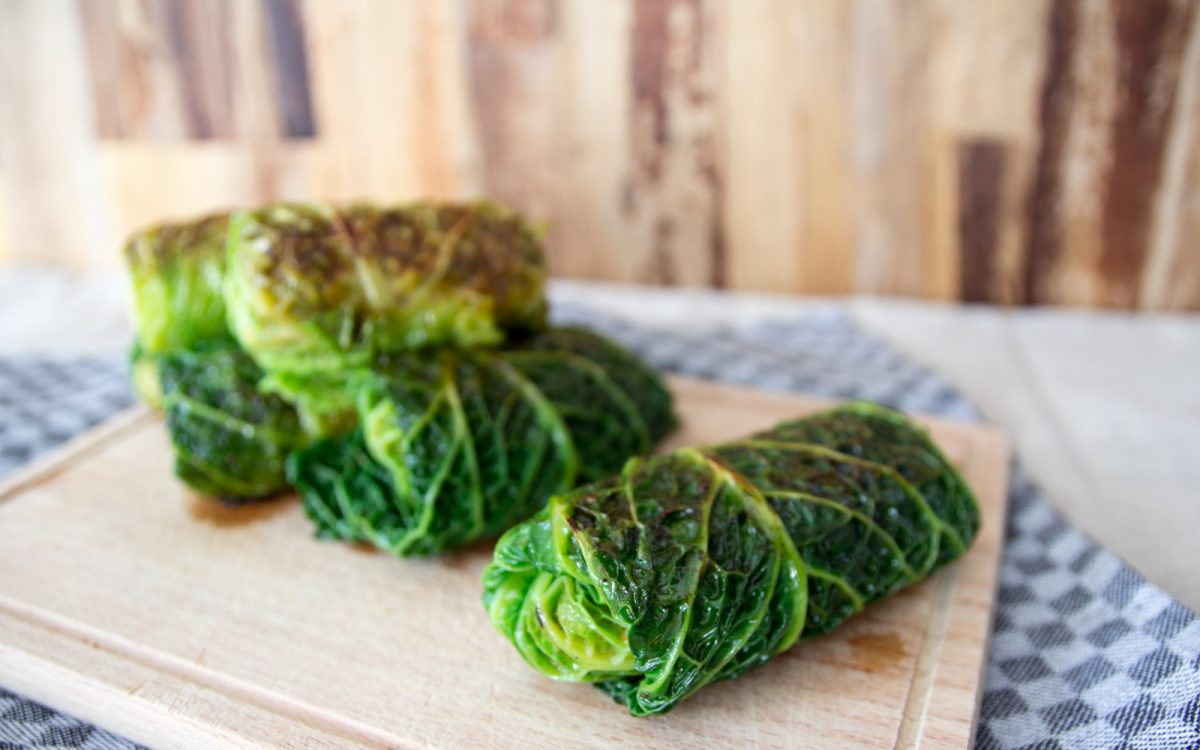 Savoy Cabbage Rolls Vegan One Green Planet