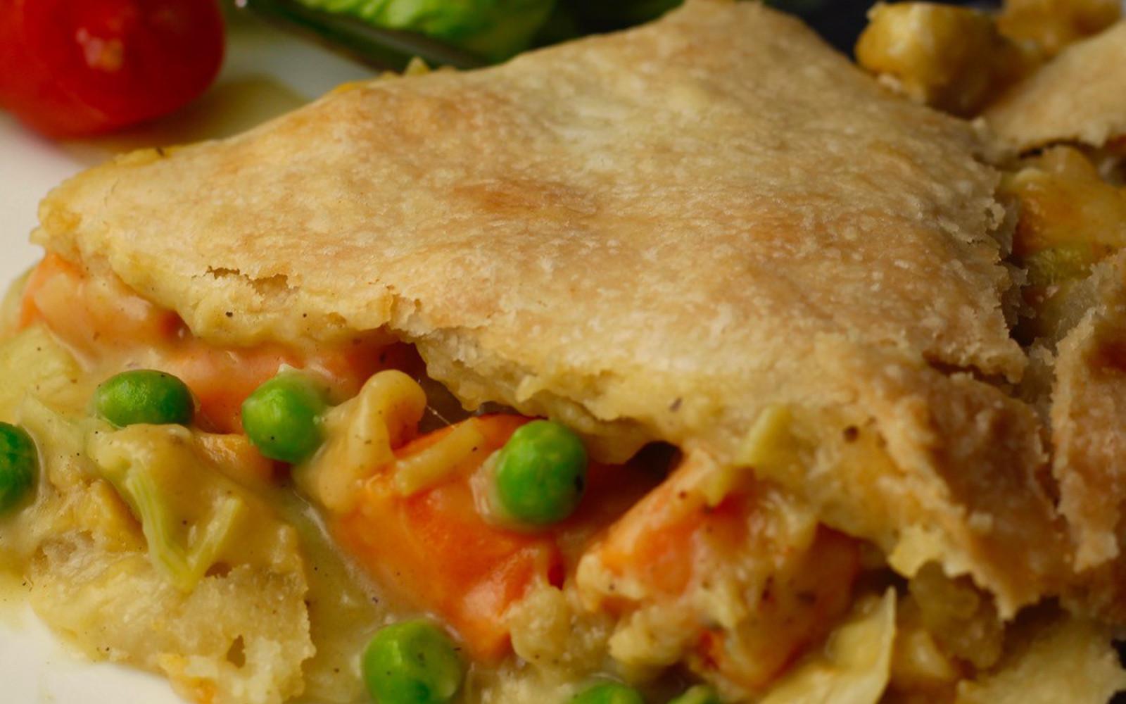 Vegan Seafood Pot Pie