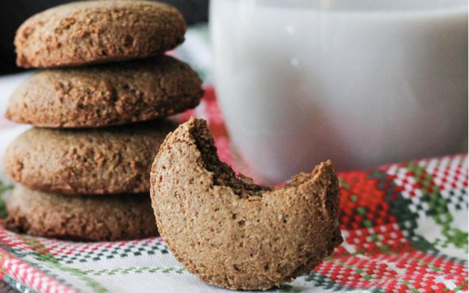 Vegan coconut molasses ginger cookies
