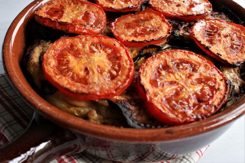Moussaka Mediterranean Potato And Eggplant Bake One Green Planet