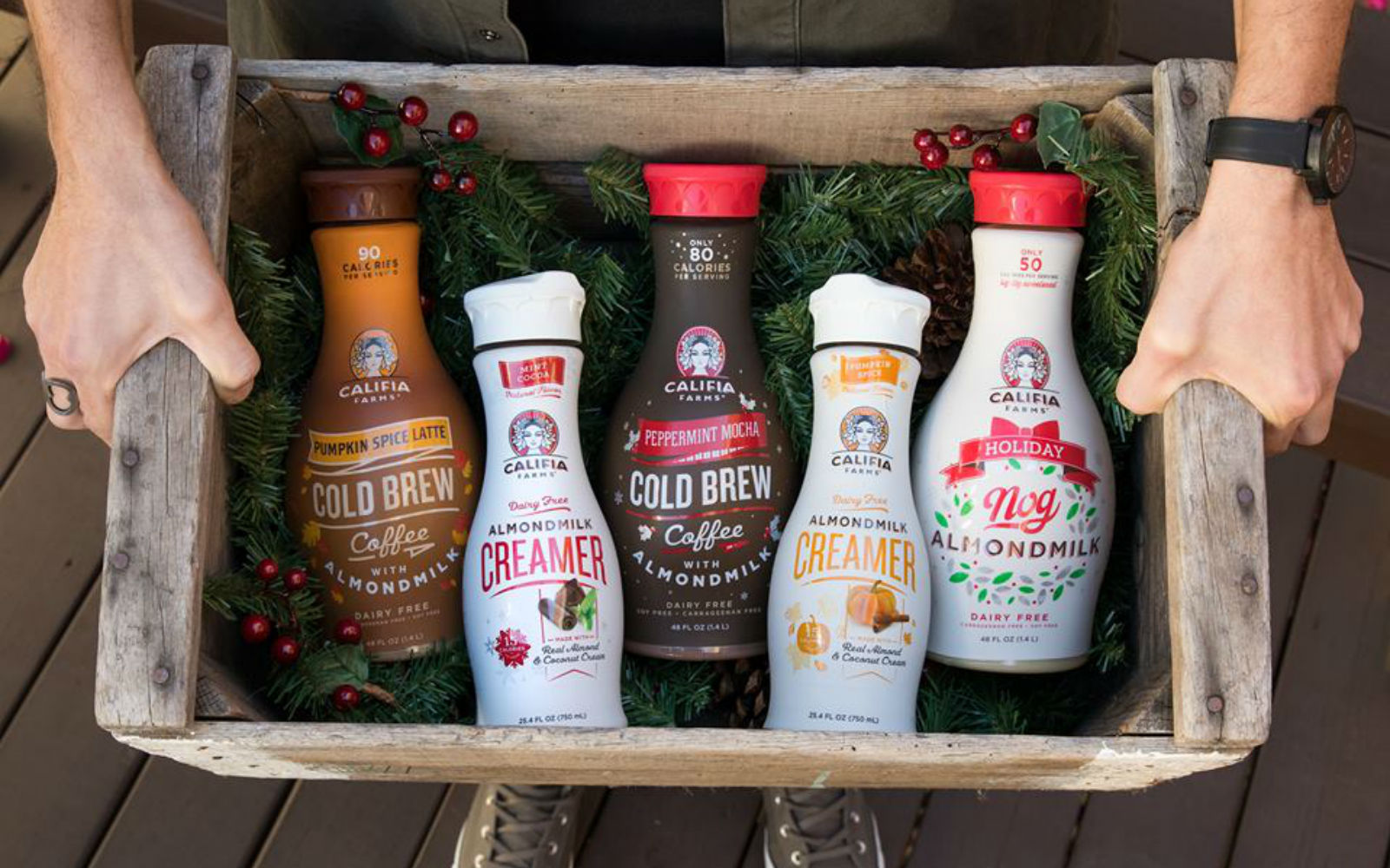 Holiday Beverages from Califia Farms