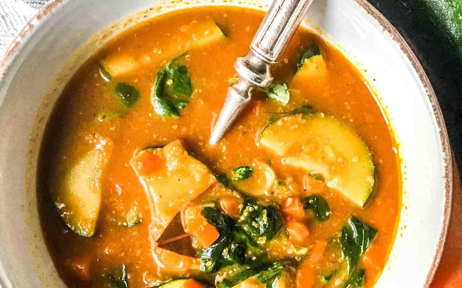 turmeric amaranth soup