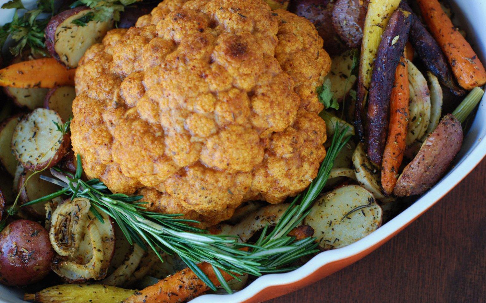 Vegan Grain-Free Cauliflower Pot Roast