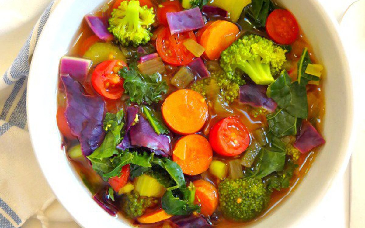 vegan cleansing detox soup