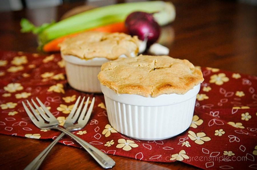 Vegan Easy Veggie Pot Pie