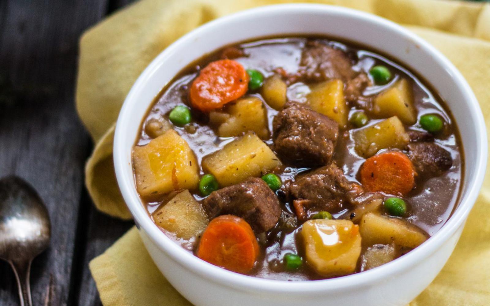 Vegan Gluten-Free Beefless Beef Stew 1