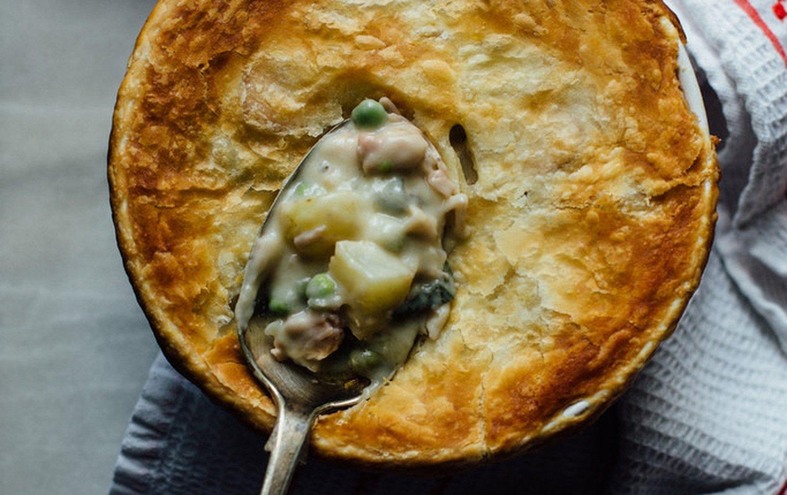 Vegan Jackfruit Pot Pie