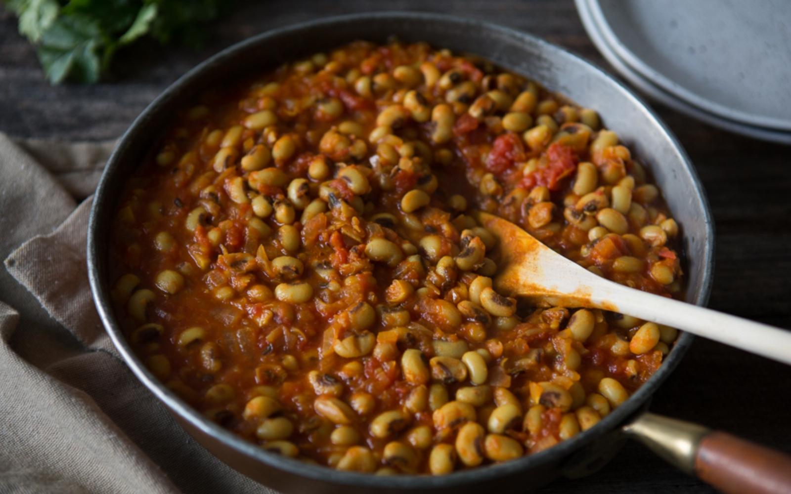 vegan black eyed pea stew