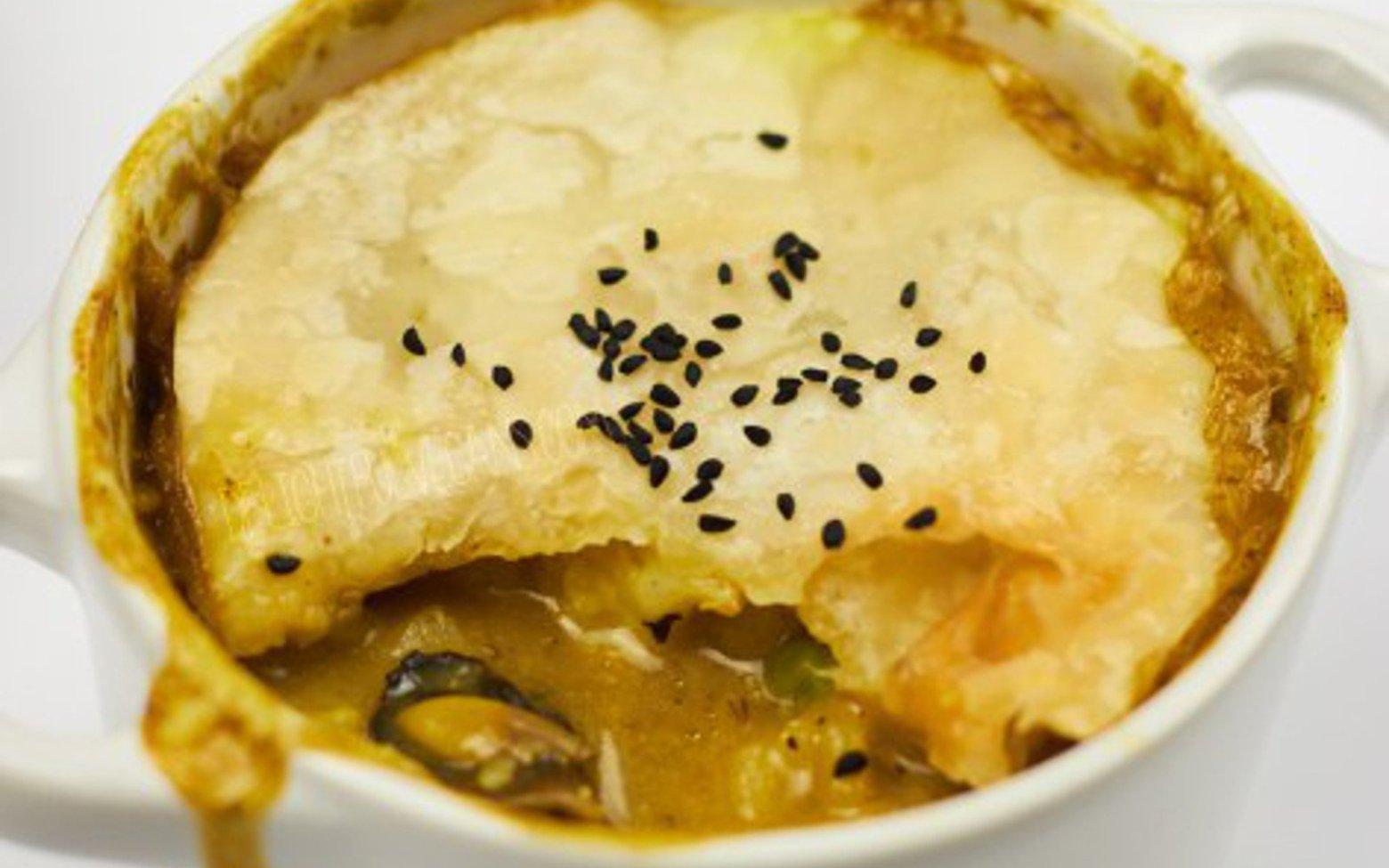 Vegan Parsnip and Mushroom Pot Pies
