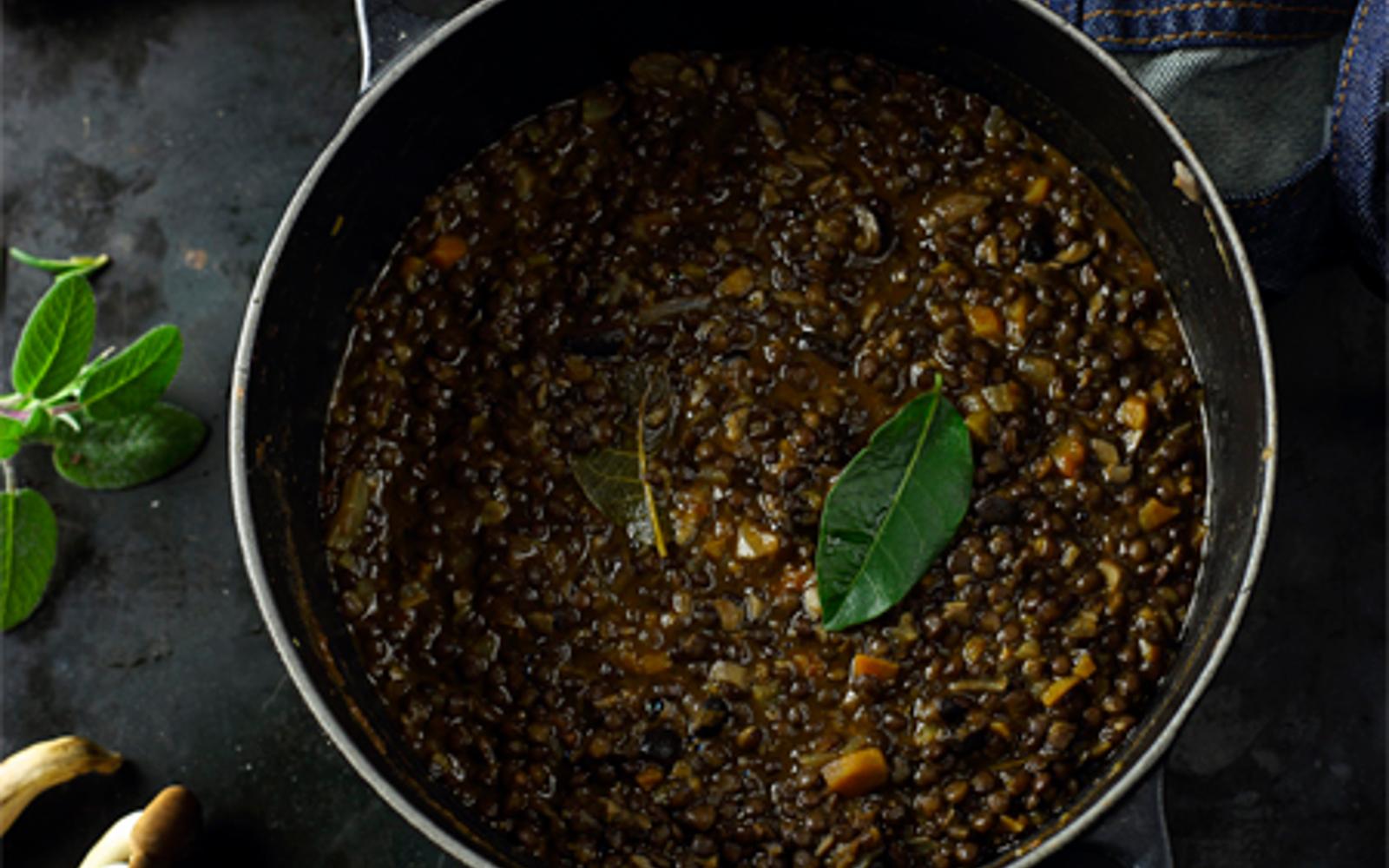 Vegan Mushroom and Lentil Ragù
