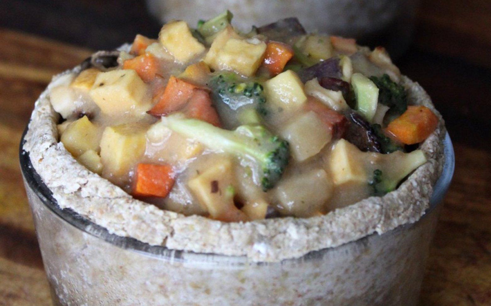 Vegan Raw Pot Pie