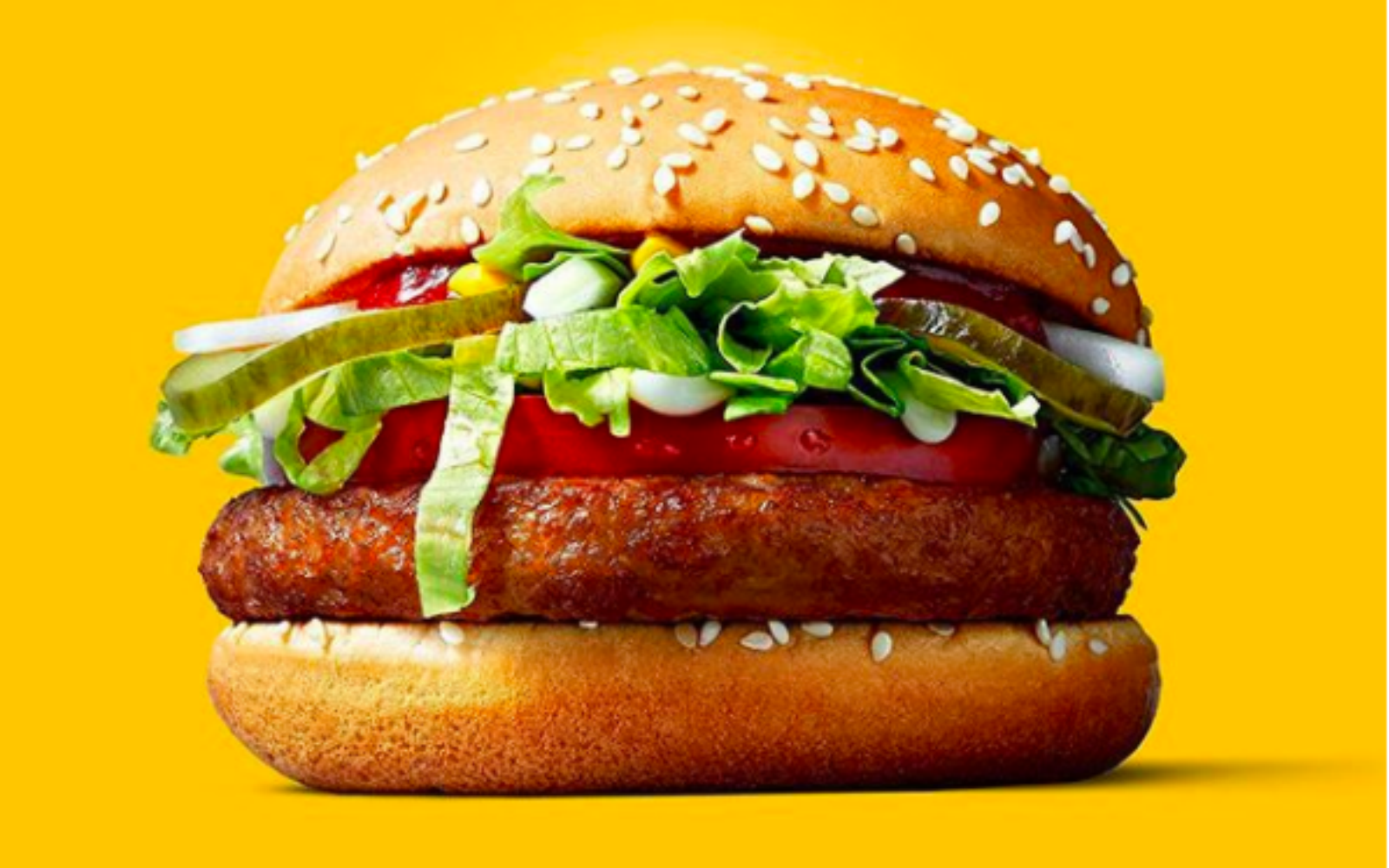 McDonald's McVegan Burger in Finland