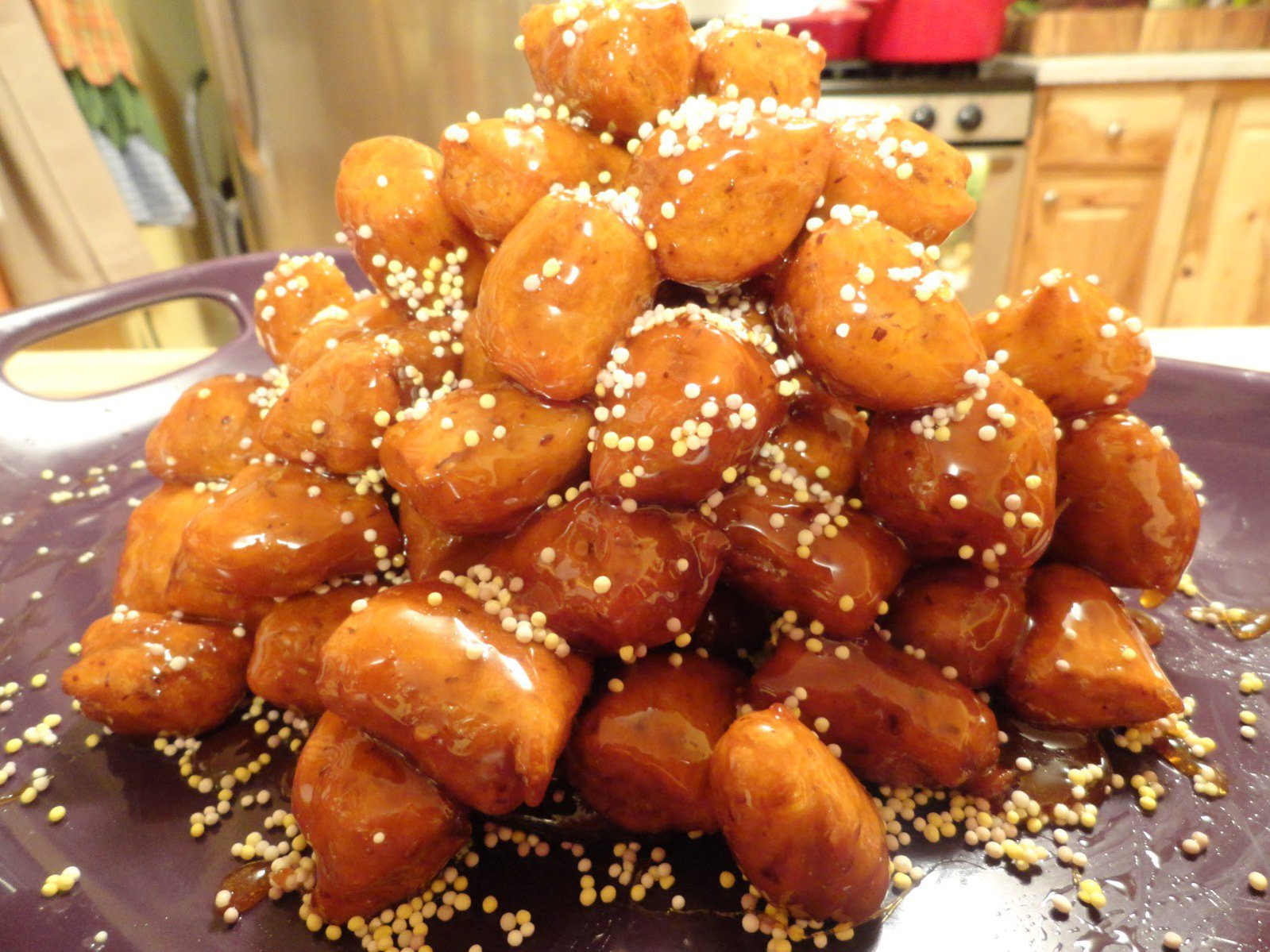 Vegan Gluten-Free Jewish Bimuelos: Fried 'Honey' Puffs