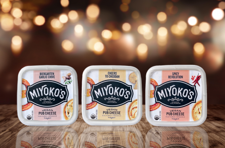 Three New Pub Cheeses from Miyoko's Kitchen