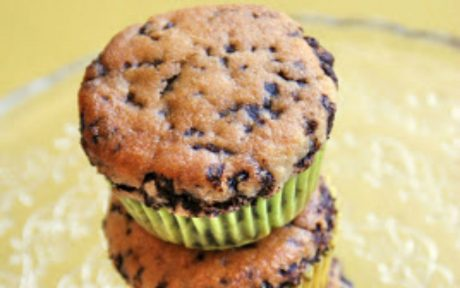 Vegan Stracciatella Muffins