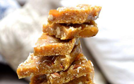 Vegan Gluten-Free Grain-Free Paleo Apricot Bars