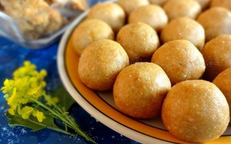 peanut oats and jaggery balls vegan