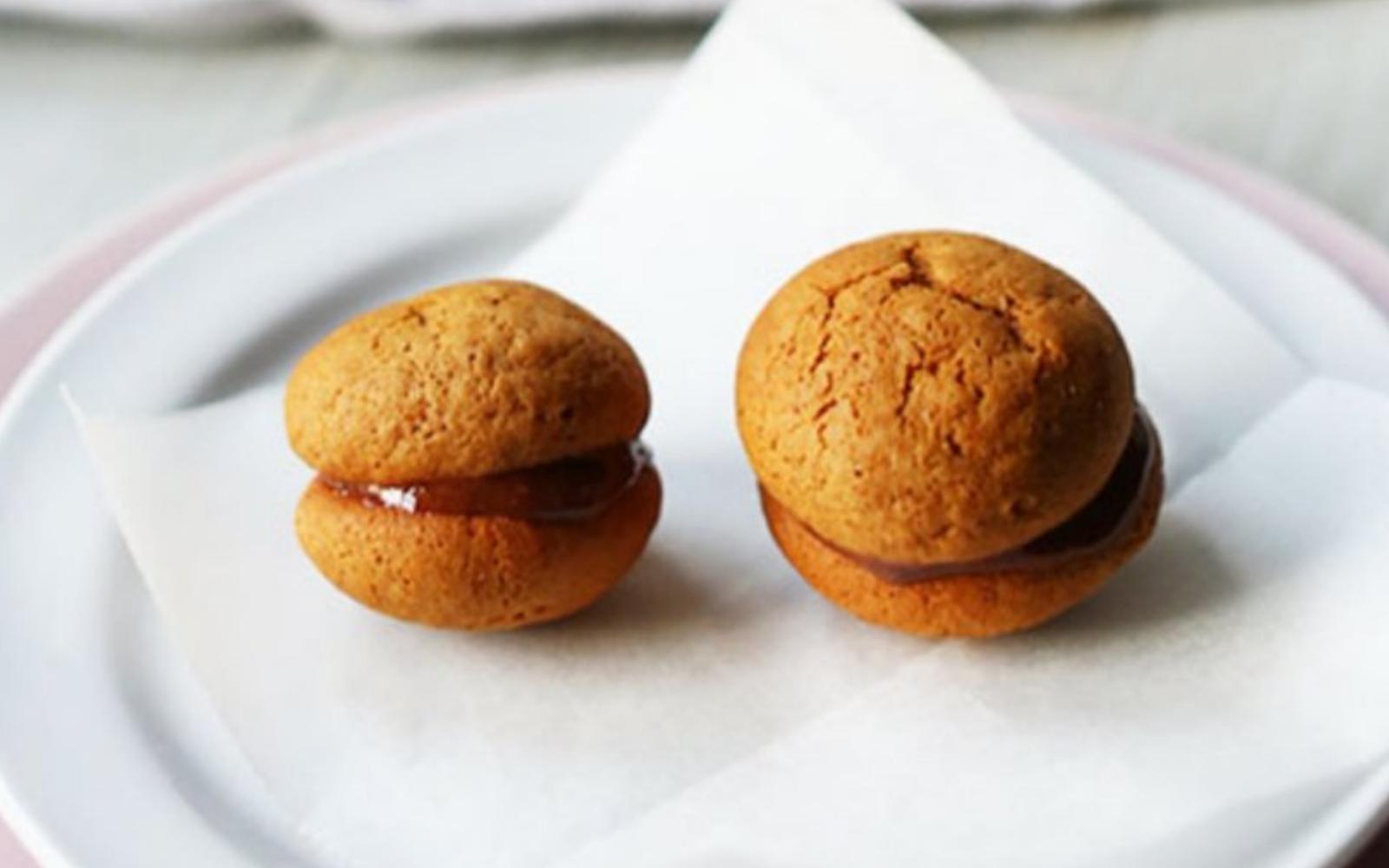 Peppernut Chocolate Hazelnut Macaroons