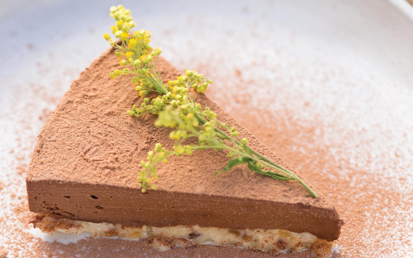 Raw Vegan No Refined Sugar Decadent Dark Chocolate Ganache