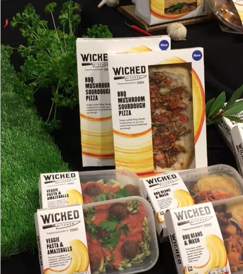 Tesco Just Launched A Line Of Vegan Meals And They Are More